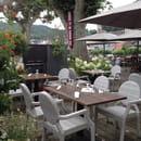 Restaurant : Aux Berges de la Vezere  - Terrasse  -