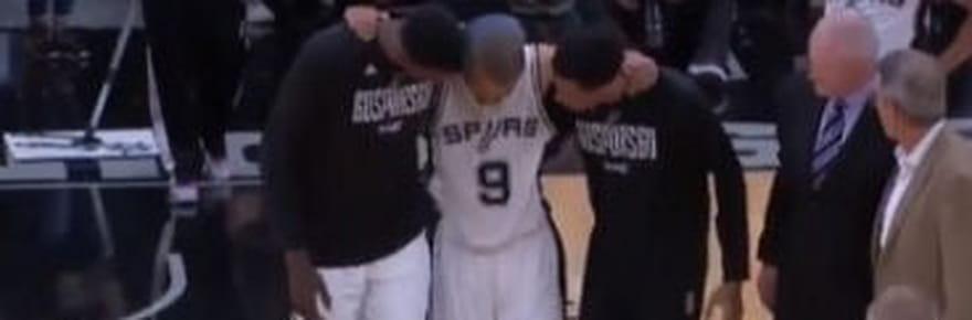 Blessure de Tony Parker [VIDEO]: le meneur des Spurs absent 6mois