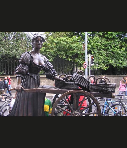 La statue de Molly Malone
