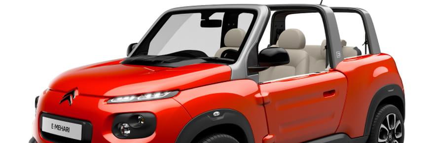 Citroën e-Méhari : un cabriolet 100% électrique! [prix, photos, infos]
