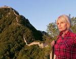 Joanna Lumley à bord du Transsibérien