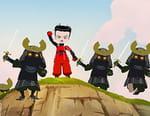 Les arts martiaux des mini-ninjas