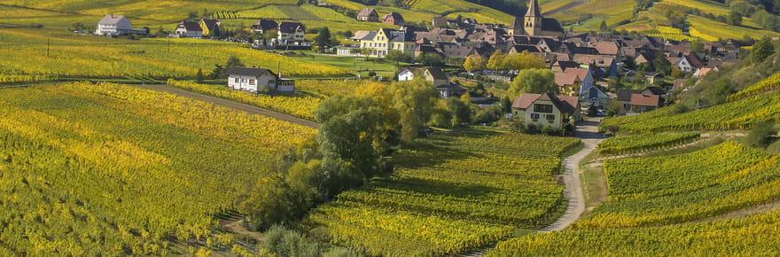 Les plus beaux sites de la route des vins d'Alsace