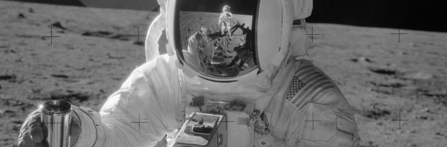 20 photos historiques du programme Apollo sur la Lune