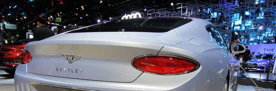 La Bentley Continental GT en images
