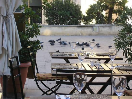 Restaurant : Le Petit Montmartre  - terrasse -   © oui