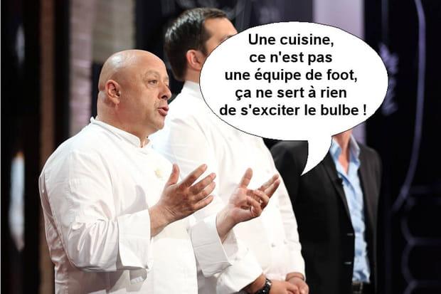 """Thierry Marx remet les candidats à leur place: """"Ça ne sert à rien de s'exciter le bulbe"""""""