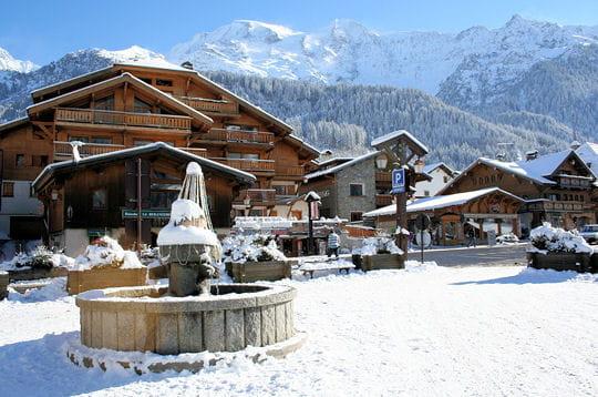 Place du village - Office tourisme les contamines montjoie ...