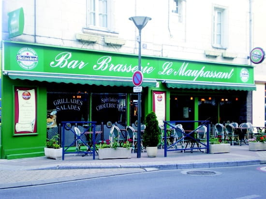 Brasserie le Maupassant  - Vue extérieure -   © Vincent