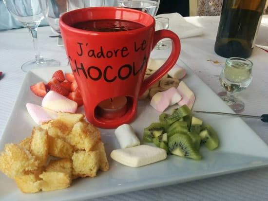 Dessert : O Chalet  - Fondue chocolat ! -