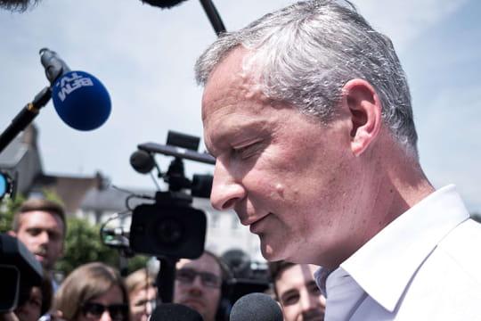 Résultat de Bruno Le Maire: le ministre élu, une large victoire
