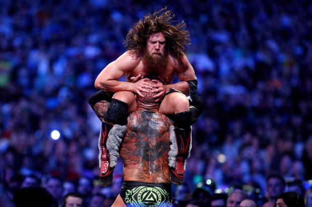 Daniel Bryan face à Batista