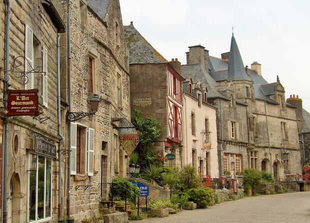 Rochefort-en-Terre sur son éperon
