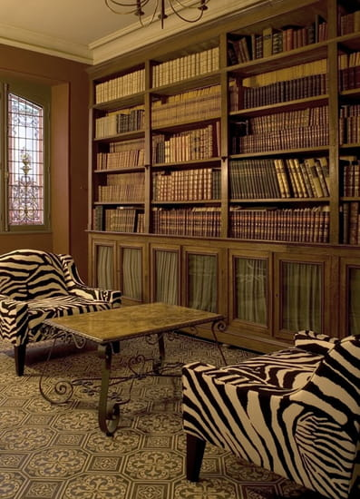 Villa Cahuzac  - La bibliothèque -