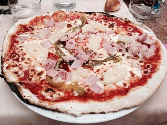 Plat : Villa Roma  - Pizza hawaïenne -