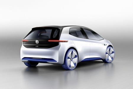 volkswagen id la voiture du futur est au salon de paris mondial de l 39 auto. Black Bedroom Furniture Sets. Home Design Ideas