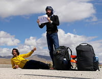 Le tour du monde en 80 jours sans un sou ! : L'Iran, Gürbulak - Meer Jawe