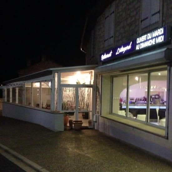 Restaurant : L'Intemporel  - Exterieur façade -