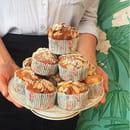 Le Café FauveParis  - Cupcake poire et chocolat -   © Café FauveParis
