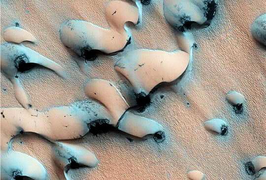 Dégel sur Mars