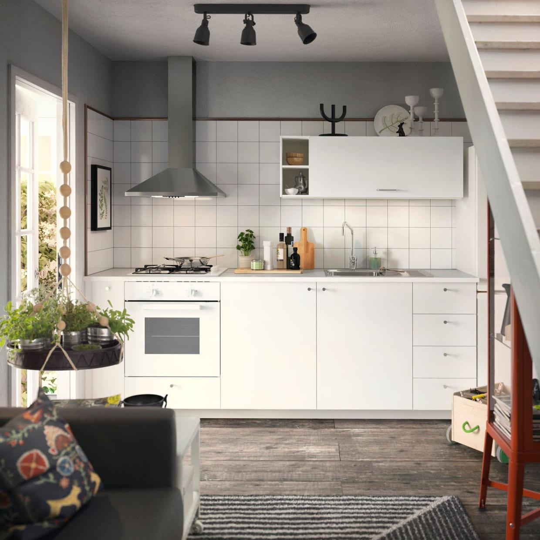 Cuisine Ikea Ouverte Sur Salon une cuisine ouverte sur le salon