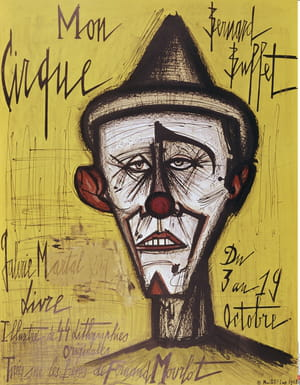 Clown de Bernard Buffet