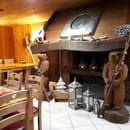 Restaurant : Le Vieux Terroir  - Cheminée -   © Intérieur