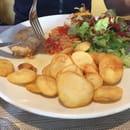 Restaurant : Cap Nell  - Très très bof ... Une cantine sans plus ... -