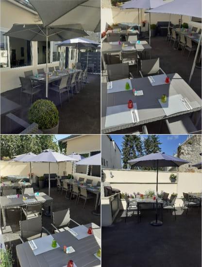 Restaurant : Le Vicomte  - Terrasse d'été -   © Vicotme
