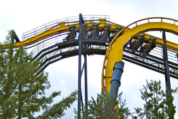 Batman: the ride, Six Flags Great Adventure aux Etats-Unis