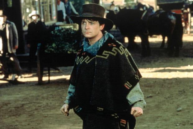 Michael J. Fox presque pendu dans Retour vers le futur 3