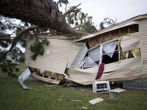 Les images spectaculaires de l'Ouragan Florence