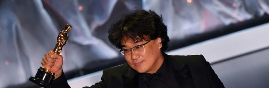 """Le film sud-coréen """"Parasite"""" entre dans la légende des Oscars"""