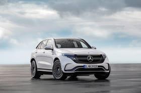 Les premières images du Mercedes EQC