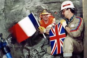En images : le chantier du Tunnel sous la Manche