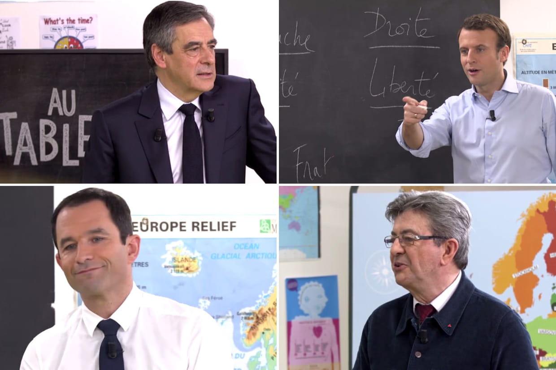 DIRECT. Présidentielle 2017: suivez le premier débat télévisé entre cinq candidats