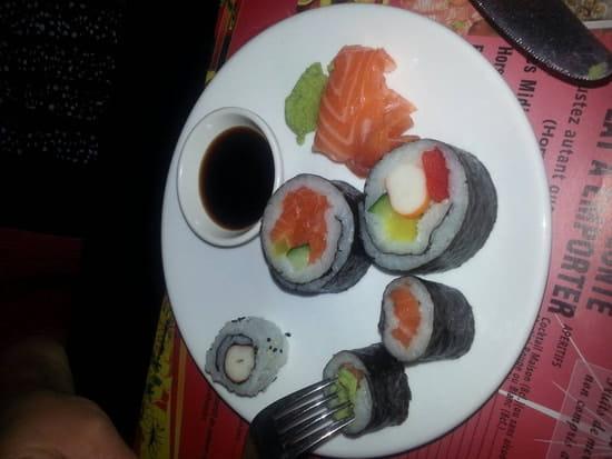 Entrée : Wok d' Abbeville  - Sushi -