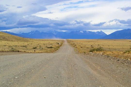 Sur la Route 40à travers l'Argentine