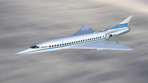 Boom, le successeur du Concorde