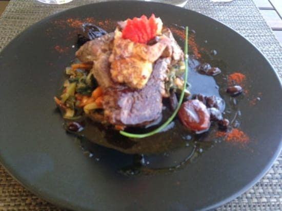 Plat : Restaurant des Iles  - Filet Rossini -