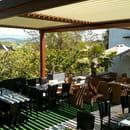 Le 9 Restaurant  - Terrasse avec vue sur la montagne de lure -