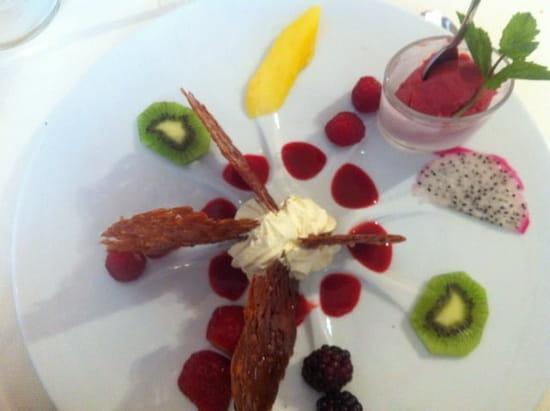 Dessert : Restaurant L'Arche de Meslay
