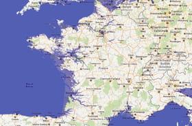 Montée des océans : la France en 2100