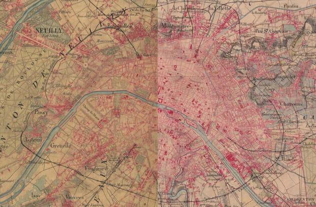 Paris en 1866
