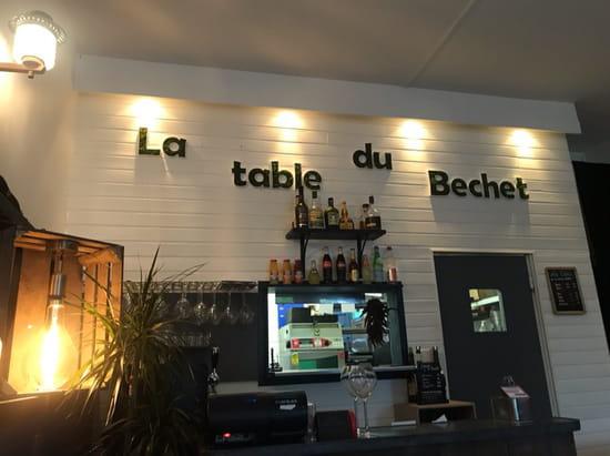 Restaurant : La Table du Bechet