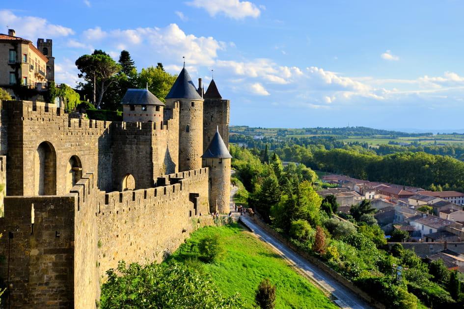 Carcassonne, le rocher du guerrier