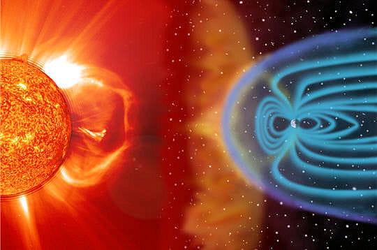 Explosion soleil