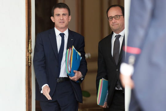 Présidentielle 2017 : si Hollande n'y va pas, Valls non plus