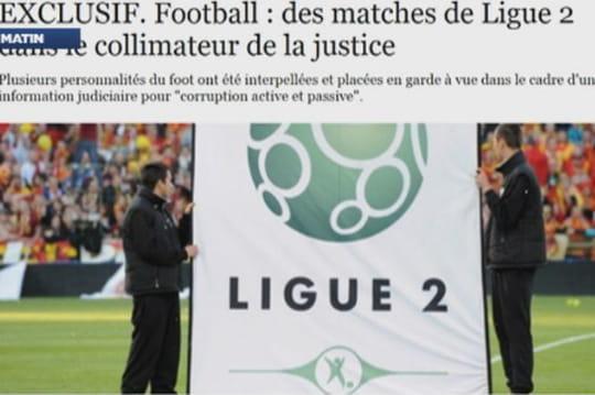 Matchs truqués en Ligue 2 : quels matchs sont visés?