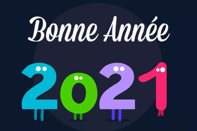 Bonne année 2021 : textes, images, gif, cartes... Tout pour rédiger ses voeux